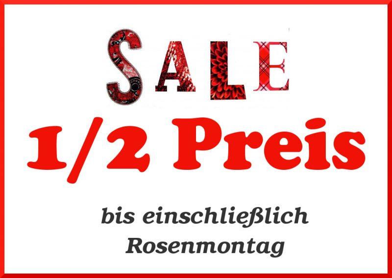 Jecke Preise - 50% Rabatt im FINAL SALE