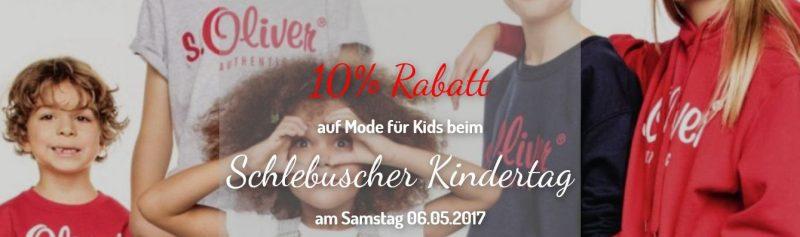 Schlebuscher Kindertag - 10% geschenkt auf Mode für Kids* 1