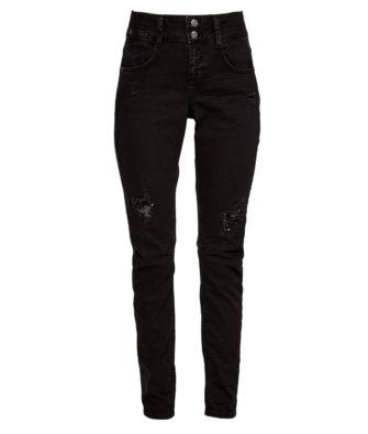 S.Oliver Slim-Jeans mit Pailletten
