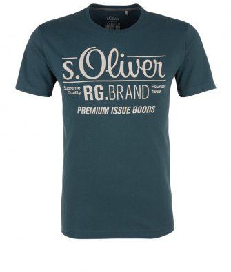 S.OLIVER Logo T-Shirt für IHN