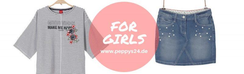 Outfit for Girls - Shirt & Denimskirt