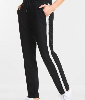 STREET ONE Loose Fit Hose Fay mit Galonstreifen