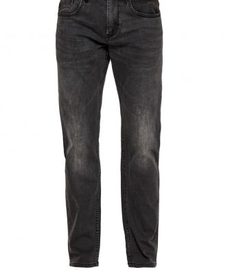 S.OLIVER Slim Fit Jeans Close in anthrazit