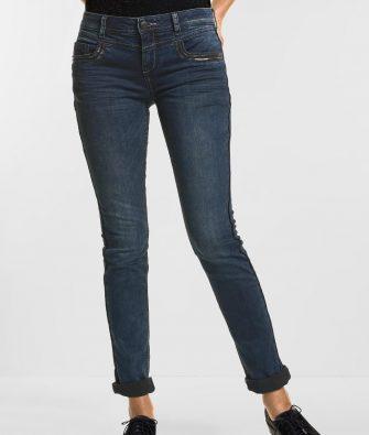 Casual Jeans Jane mit Pailletten Details von STREET ONE
