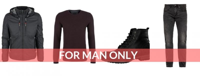 FOR MAN ONLY - Outfit mit wetterfester Canvas Jacke