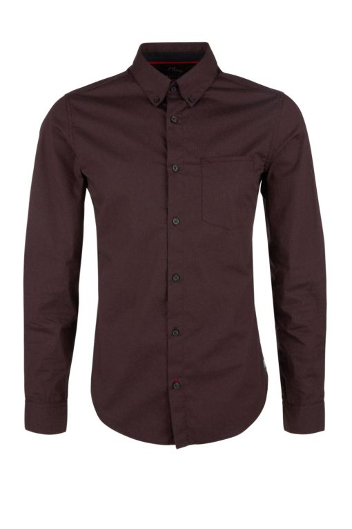 Tailliertes Hemd von S.OLIVER mit Stretchkomfort