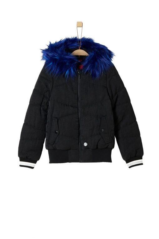 Winterjacke Mädchen von S.OLIVER mit Fake Fur