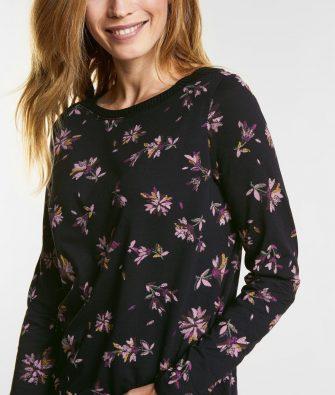 Flower Print Shirt von CECIL