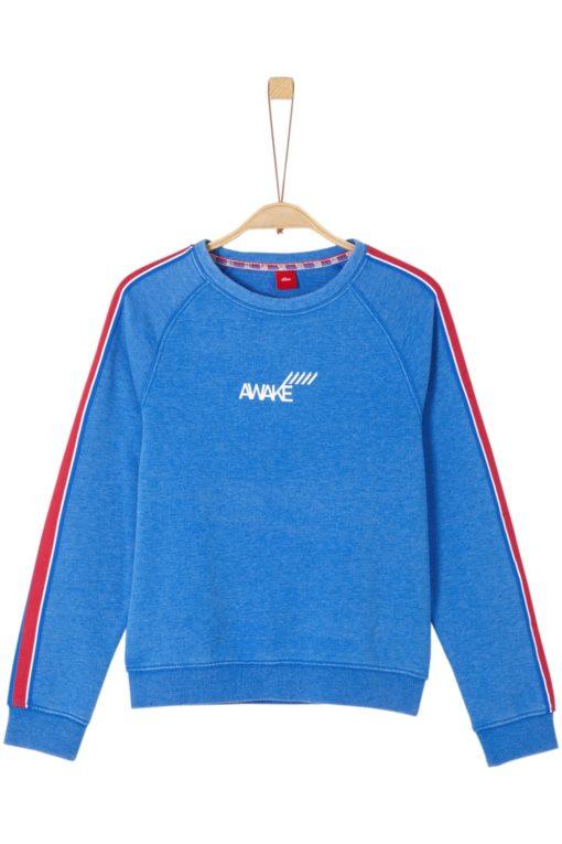 Sportiver Sweater mit Streifen von S.OLIVER
