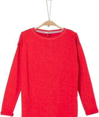 Flammgarn Shirt mit Stitching von S.OLIVER