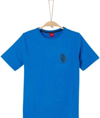 T-Shirt mit Miniprint von S.OLIVER