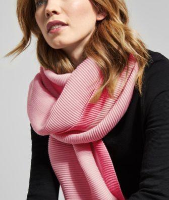 Plissee Schal von CECIL