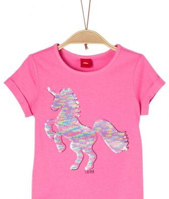 T-Shirt mit Wendepailletten von S.OLIVER