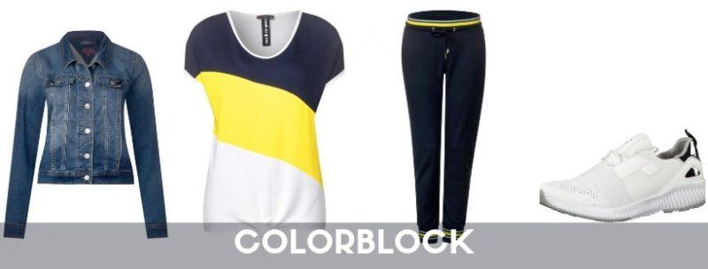 Trendthema Colorblock
