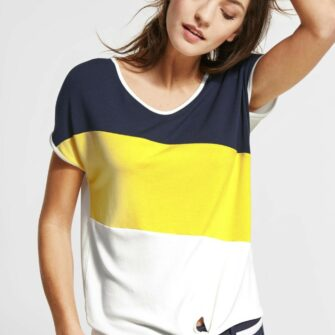 Colour Block Shirt Ramona von STREET ONE