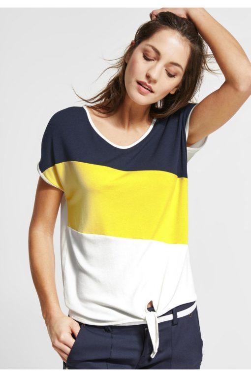 Colour Block Shirt Ramona von STREET ONE