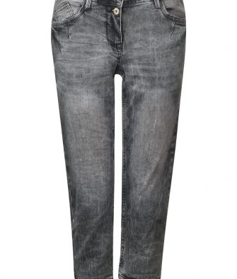 3/4 Denim Scarlett in Grey Denim von CECIL