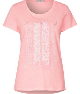 T-Shirt mit Frontprint von CECIL