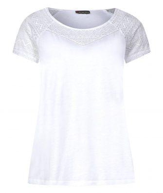 Feminines Shirt mit Spitze von STREET ONE