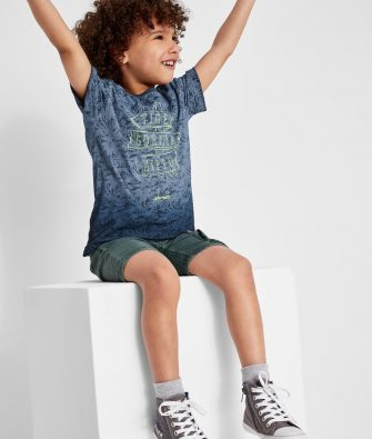 Cooles Shirt mit Wascheffekt von S.OLIVER