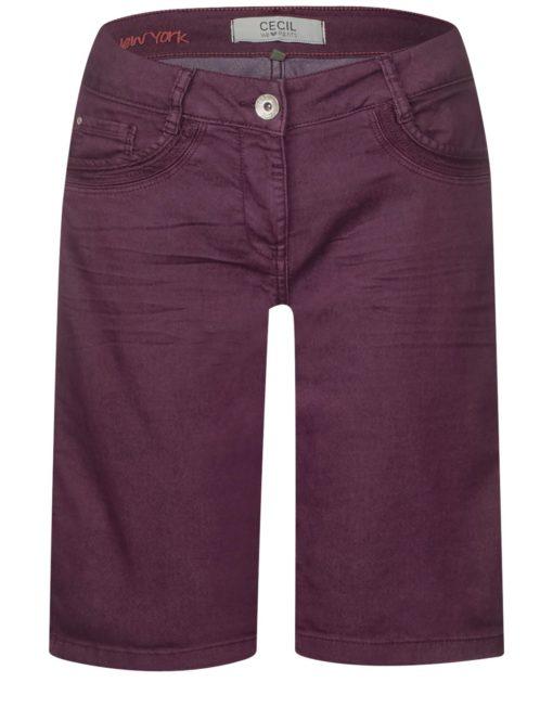 Colour Denim Shorts New York von CECIL