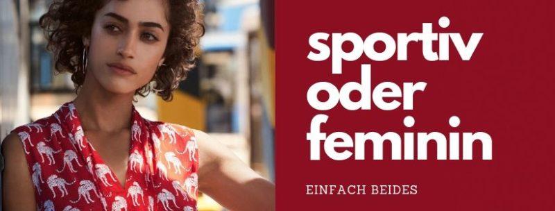 Sportiv oder feminin