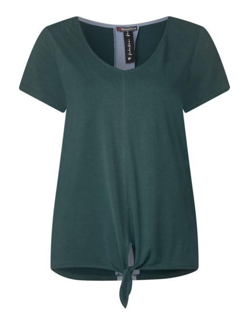 Softes Shirt mit Kontraststreifen von STREET ONE