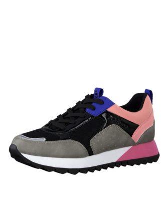 Low Sneaker im Materialmix von S.OLIVER