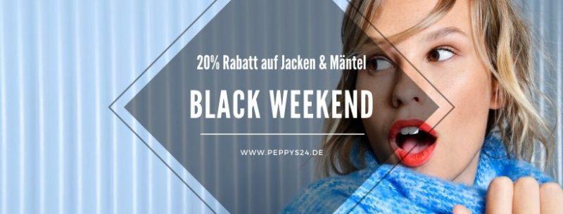 20% Rabatt auf Jacken & Mäntel