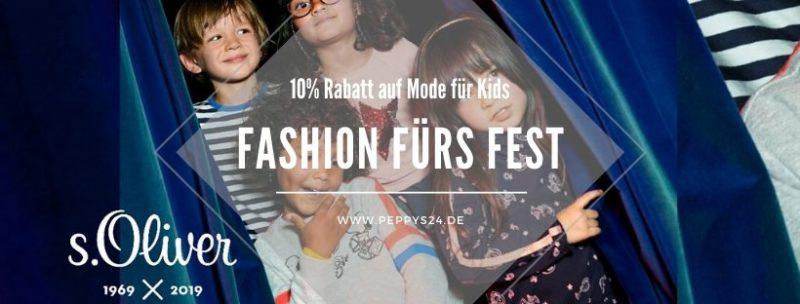 10% Rabatt auf Mode für Kids - Fashion fürs Fest