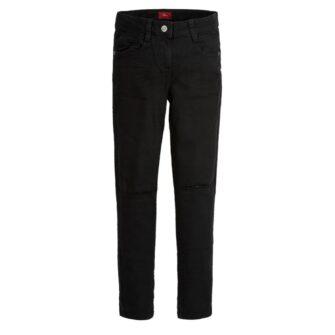 Cropped Jeans mit Knee Cut