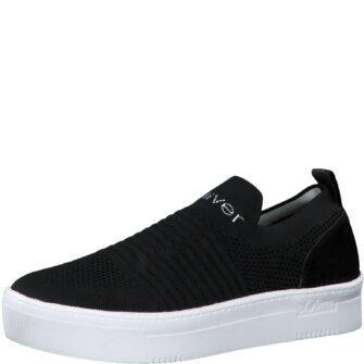 Sock Sneaker mit Plateau Sohle