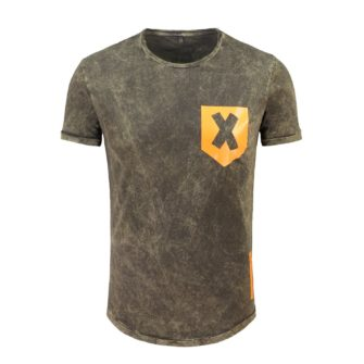 KEY LARGO Shirt Criss Cross im Vintage Look