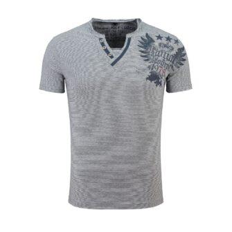 KEY LARGO Shirt Royal Button