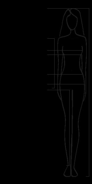 Sportive Hose von CECIL in Laenge 22 Inch 6