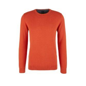 Basic Pullover mit Rundhals