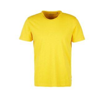 T-Shirt aus Flammgarn Jersey im Used Look