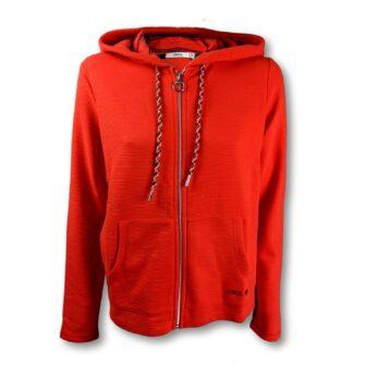 Sweatshirtjacke mit Kapuze von CECIL