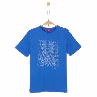Jungen T-Shirt mit Wording Print