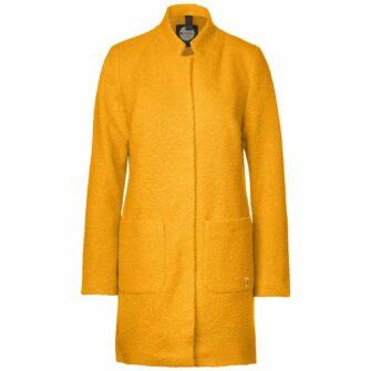 Mantel in Curly Woll Optik
