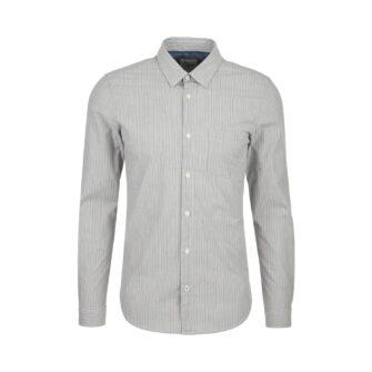 Slim Fit Hemd mit Nadelstreifen