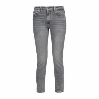 Slim Fit Jeans in coolem Grey Denim