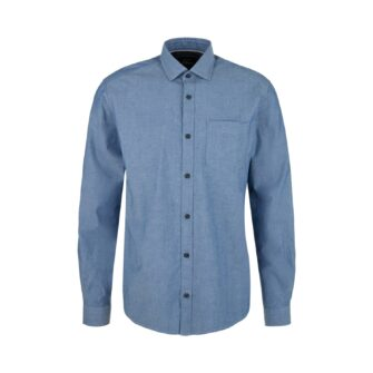 Chambray Hemd im Regular Fit