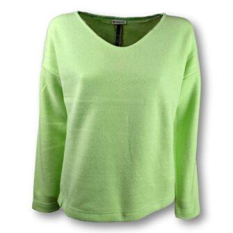 Weicher Sweater mit V-Ausschnitt