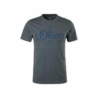 T-Shirt mit Logo Print