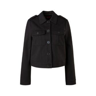 Kurze Jacke aus bequemen Jersey