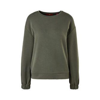 Leichtes Sweatshirt aus innovativem Materialmix