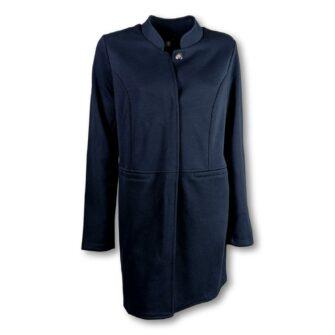 Langer Jersey Mantel von STREET ONE