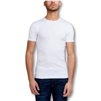 GARAGE Semi Body Fit T-Shirt mit Rundhals
