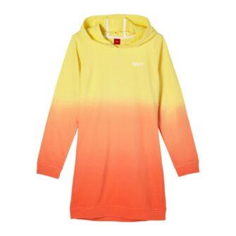Sweatkleid mit Farbverlauf